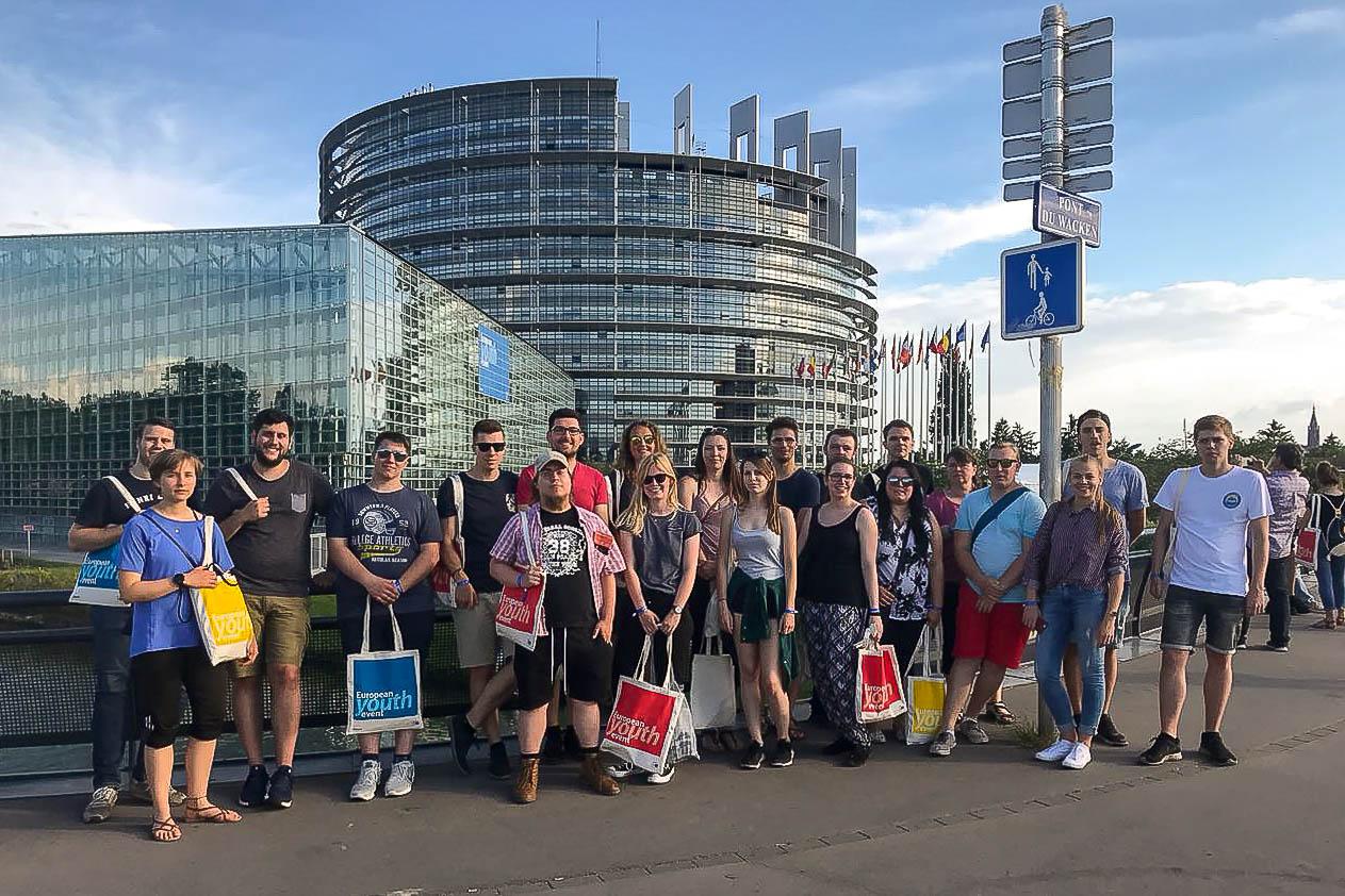 European Youth Event in Strasburg 2018