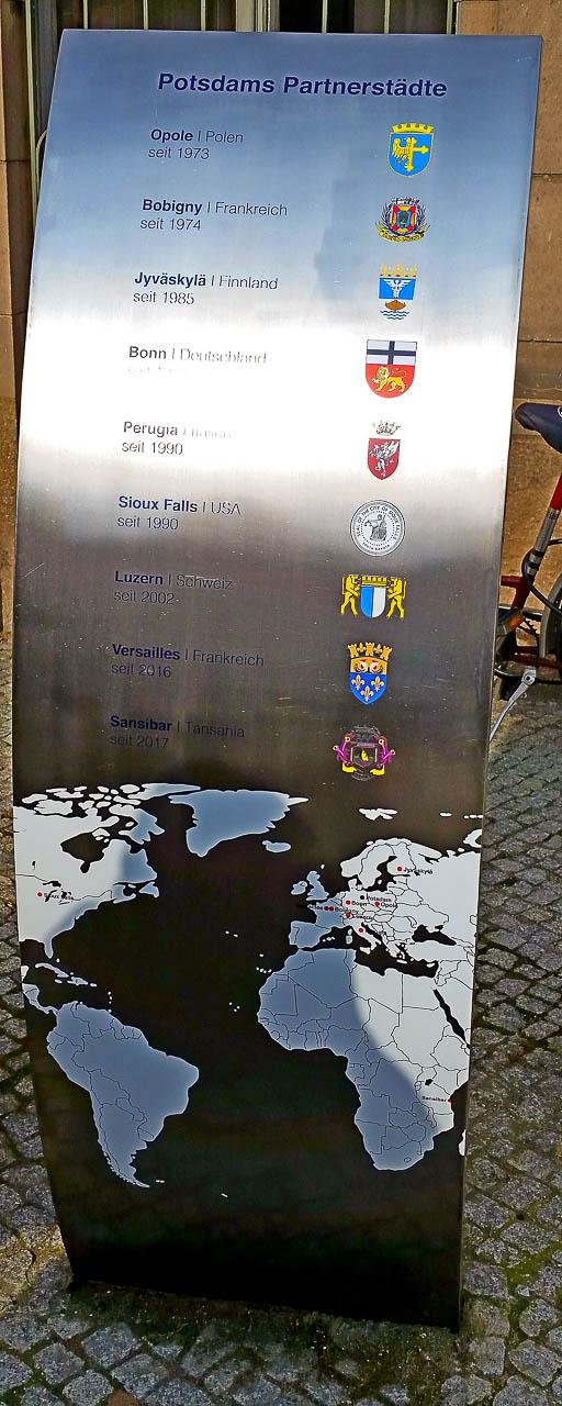 Potsdams Partnerstädte